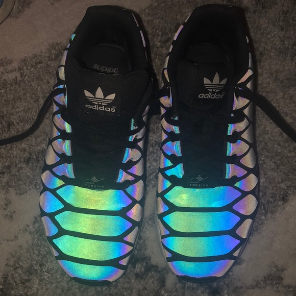 Adidas Zx Flux Reflective Tennis Shoes
